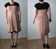 sew a cute dress using a t-shirt pattern