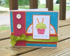 TECC72 Bright Birthday by stephanie.hargis - Cards and Paper Crafts at Splitcoaststampers