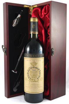 1983 Chateau Gruaud-Larose 2eme Grand Cru Classe St Julien:Powerful, spicy, and full-bodied