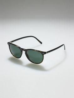 Thin Round Sunglasses - Sunglasses   Men - RalphLauren.com