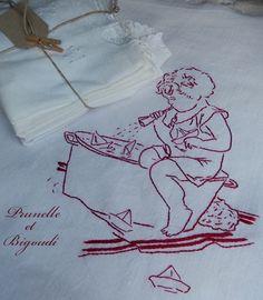 Broderie rouge... Prunelle et Bigoudi http://prunelle-et-bigoudi.fr/category/et-tout-le-reste