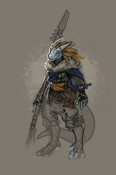 DnD - Dragonborn Blue by Malakym on DeviantArt Dungeons And Dragons Art, Dungeons And Dragons Homebrew, Dungeons And Dragons Characters, Dnd Characters, Fantasy Characters, Female Dragonborn, Dnd Dragonborn, Character Concept, Character Art