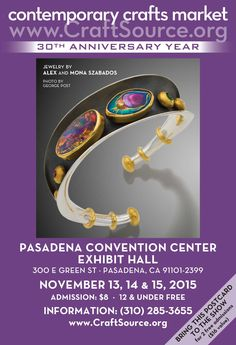 Wonderful holiday shopping at the Pasadena Convention Center this November. Print out this image and bring with you for two free admissions.