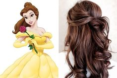 wedding beauty plan Belle, Beauty and the Beast - Disney Princess-Inspired Hairstyles - Livingly Beauty And The Beast Wallpaper, Beauty And The Beast Theme, Beauty And The Best, Disney Beauty And The Beast, Disney Hairstyles, Disney Princess Hairstyles, Wedding Hairstyles, Bella Disney, Disney Princess Belle