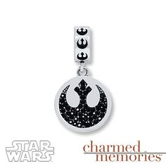 Charmed Memories Star Wars Rebel Alliance Sterling Silver Charm