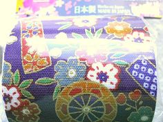 Japanese Fabric Tape Cherry Blossoms Flower by FromJapanWithLove, $5.00    This is really cool Japanese style flower fabric tape. It is 100% cotton fabric tape on a roll. The pattern is cherry blossoms, waterwheels, tags with flower patterns. Colors - purple, gold, red, green, orange, white.
