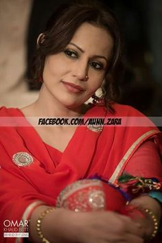 Saima Saleem plays the loving chahchi, who loves Aunn as if he was her own son.