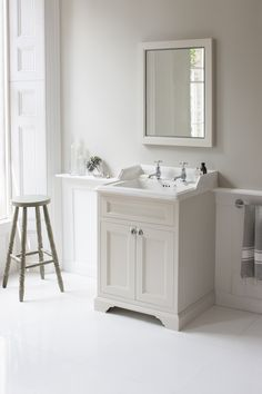 traditional bathroom vanities and cabinets rustic bathroom vanity cabinets bathroom traditional with Bathroom Vanity, Bathroom Styling, Traditional Bathroom, Victorian Bathroom, White Bathroom Decor, Bathroom Furniture, Rustic Bathrooms, Bathroom Storage, Bathroom
