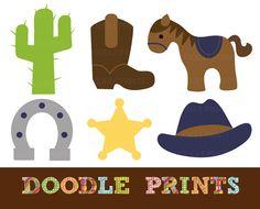 Cowboy (Scrapbook Paper Piecings Inspiration)