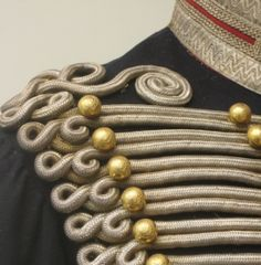 Crimean War British Officer Royal Horse Artillery detail c1854 (Tragic period ot the Charge of the Light Brigade...a mistake...)