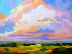 Modern Fine Art Impressionist Rebecca Croft by rebeccacroftstudios