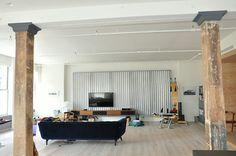 Living Room Columns