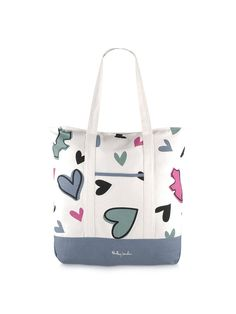 Multicoloured heart bag