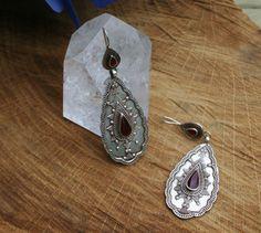 Een persoonlijke favoriet uit mijn Etsy shop https://www.etsy.com/nl/listing/451365302/large-sterling-silver-rajastani-earrings