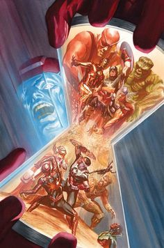 """Avengers 6 by Alex Ross "" Avengers Team, Marvel Avengers Assemble, Marvel Comics Art, Marvel Heroes, Kang The Conqueror, Stuart Immonen, Archie Comics Riverdale, All New Wolverine, Best Avenger"