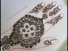 YouTube easy #round #circular #henna #mehndi #design