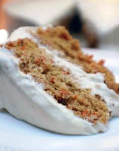 Barbara Adams Beyond Wonderful » Pineapple-Carrot Cake with Ultimate Cream Cheese Frosting Recipe
