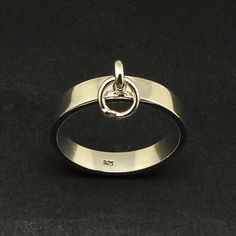 Bague Tendance 2018 : Silver Bondage Slave Ring – Bdsm Ring of O Fetish Jewelry, Gift for Bdsm Practitioners, Dominant Gift, Dominatrix, Submissive Engraved Necklace, Silver Pendant Necklace, Sterling Silver Jewelry, Gold Jewelry, Diamond Jewelry, Jewellery, Cute Jewelry, Jewelry Gifts, Gold And Silver Rings