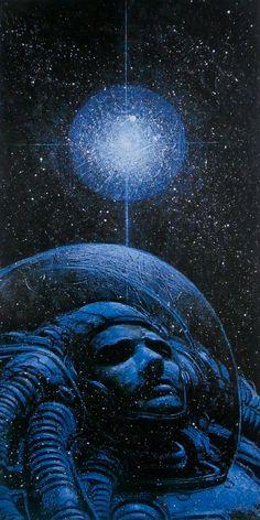 JUAN GIMENEZ. Arcane XVII - L'ÉTOILE. L'Espérance, la Pitié, l'Inspiration, la Spiritualité, la Bonté divine. (L'univers de Juan Gimenez. La Sirène 2002)