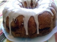 Yum... I'd Pinch That! | Blue Ribbon Apple Bundt Cake. This cake won a Blue Ribbon at a  state fair. It's a moist delicious cake with a fabulous glaze!!