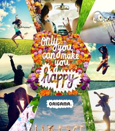 only you can make you happy