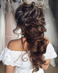Wedding Updo Hairstyles for Long Hair from Ulyana Aster_29 ❤ See more: http://www.deerpearlflowers.com/wedding-updo-hairstyles-for-long-hair-from-ulyana-aster/2/