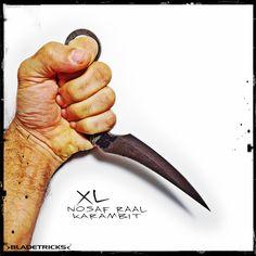 Bladetricks Custom made XL Nosaf Raal Karambit #eskrima #selfdefense #knife