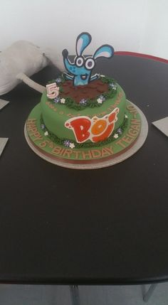 Boj birthday cake for a 5th birthday!