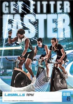 RPM® is the indoor cycling workout where you discover your athlete within. #lesmills