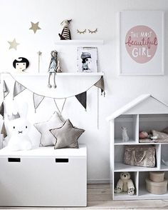 "423 Likes, 5 Comments - Scandinavian Homewares (@istome_store) on Instagram: ""In love with this beautiful little girl's room! So many goodies in this gorgeous space! You can…"""