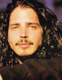 how adorable is he? Chris Cornell, Soundgarden