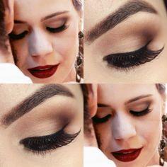 Tutorial - maquiagem inspirada em Leandra Leal em Império » Pausa para Feminices Leandra Leal, Make Up, Nails, Hair, Celebs, Finger Nails, Ongles, Makeup, Beauty Makeup