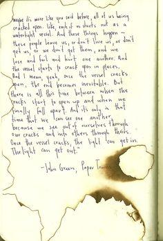 """""""paper towns"""", john green"""