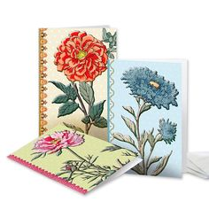 UNICEF Market | All Purpose UNICEF Blank Greeting Cards (set of 12) - Asian Flowers