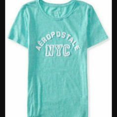 Aeropostale Teal Tee NWOT cute teal tee, new without tags Aeropostale Tops Tees - Short Sleeve