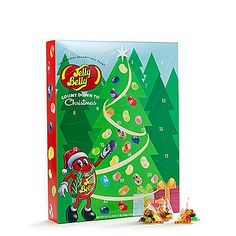 Jelly Belly Advent Calendar.  I need this!! Jelly Belly, Candy Shop, Advent Calendar, Christmas Ideas, Celebrations, Goodies, Seasons, Winter, Creative