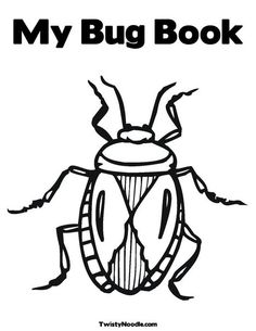 Bug and Insect Preschool Worksheets KINDER GARTEN ROOM