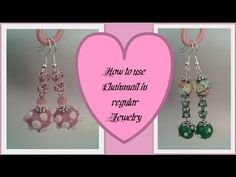 How to use Chainmail (Byzantine) in jewelry Beading Tutorial by HoneyBeads - YouTube