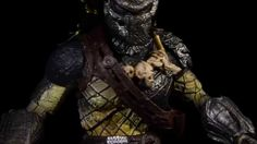 AVPR Predator Wolf - S H MonsterArts - Action Figure The Articulation Series - Create your own action movie scenes !