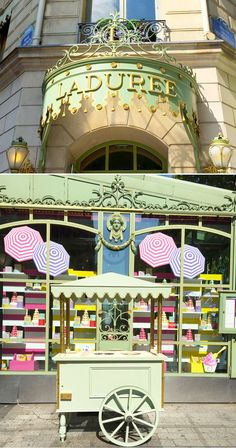 Visiting Laduree in Paris, France! Macaron Heaven!