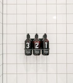 Simplify your bathing routing with a trio of products developed for Davines for Rudy's Barbershop: a 16 oz bottle of #1 Shampoo is $20, a 16 oz bottle of #2 Conditioner is $24, and a 16 oz bottle of #3 Body Wash is $20.