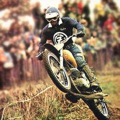Things we like Vintage Motocross, Vintage Racing, Vintage Bikes, Vintage Motorcycles, Vintage Man, Dirt Bike Racing, Mx Racing, Enduro Motocross, Automobile