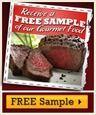 Free Gourmet Food Sample