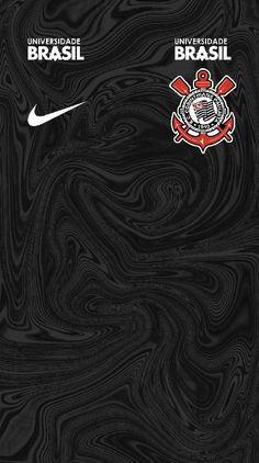 Corinthians of Brazil wallpaper. Soccer Kits, Football Kits, Wallpaper Corinthians, Brazil Wallpaper, Corinthians Time, Football Players Images, Best Background Images, Football Wallpaper, Sports Clubs