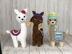 Etsy :: Your place to buy and sell all things handmade Crochet Toys Patterns, Pdf Sewing Patterns, Amigurumi Patterns, Stuffed Toys Patterns, Parfait, Kids Birthday Presents, Llama Pillow, Plush Pattern, Crochet For Beginners