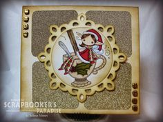 Scrapbooker's Paradise Blog: Playing in Paradise #7