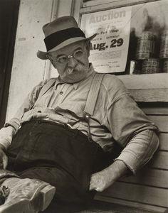 Carl Mydans. Portrait of Forrest Carpenter. 1936