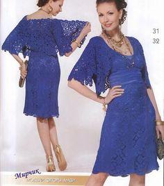 Irish crochet &: Платье + болеро