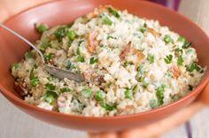 Sencillo risotto con tocino y chícharos Receta - Comida Kraft