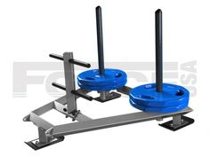 Force USA Power Sled  The Power Sled is no ordinary gym sled. The upright pushing poles are designed to hold Olympic Weight Plates for added resistance.  Features:  - Heavy Duty Steel Construction - SteelForce™ Structural Integrity - Built to last high quality heavy-gauge steel that supports even the toughest of workouts - EcoCoat™ – Environmentally friendly powder coating - Includes harness   For more info visit: http://www.gymandfitness.com.au/force-usa-power-sled.html